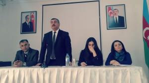 24.11.2015-ci il tarixində Lənkəran Dövət Humanitar Kollecinin buraxılış kurslarında təcrübələrin başlanması ilə bağlı konfrans keçirildi