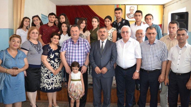Azərbaycan Respublikasının xalq artisti Ağacəbrayıl Abasəliyev ilə görüş keçirildi