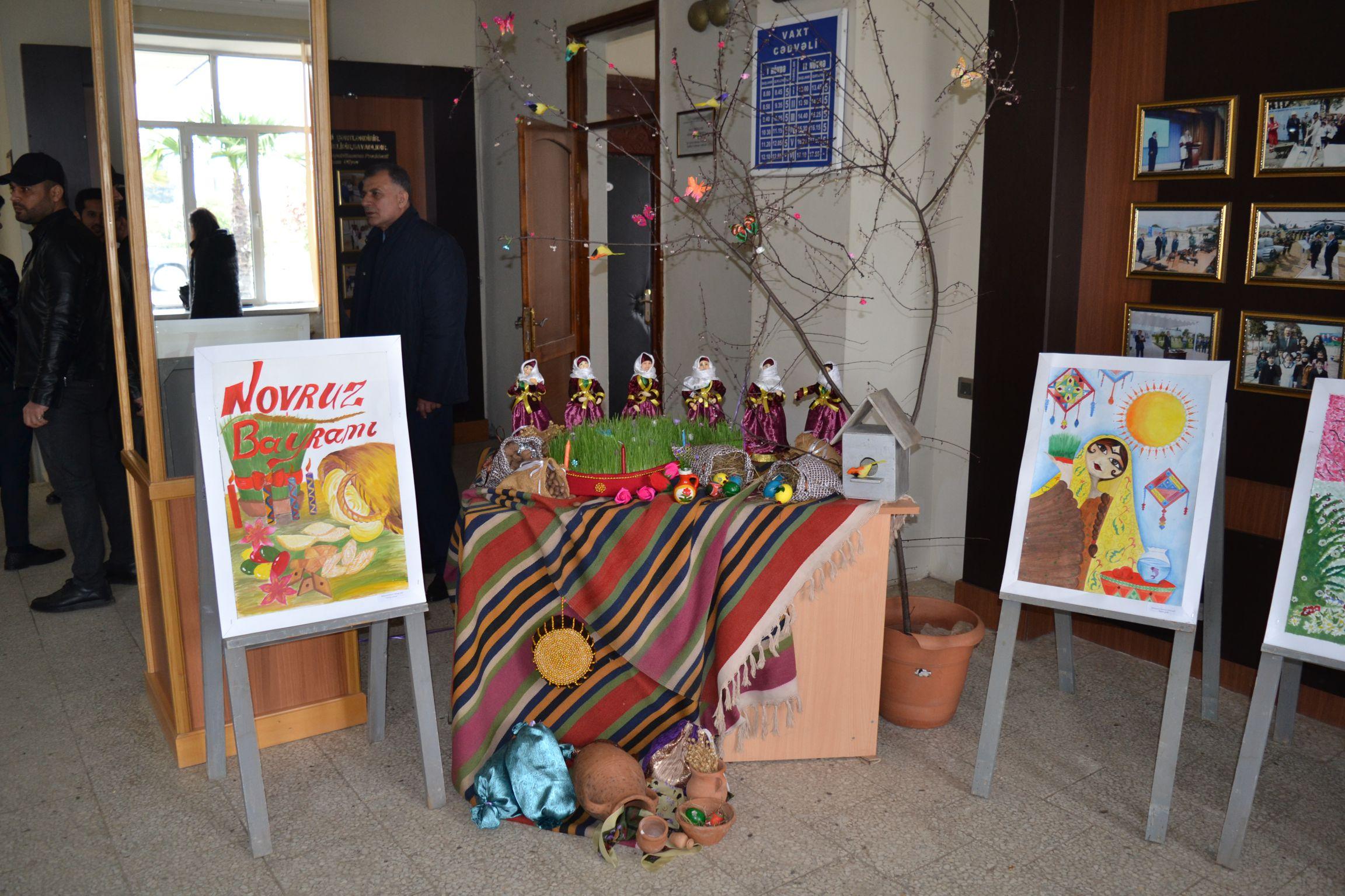 Novruz şənliyi uşaq evində davam etdirildi