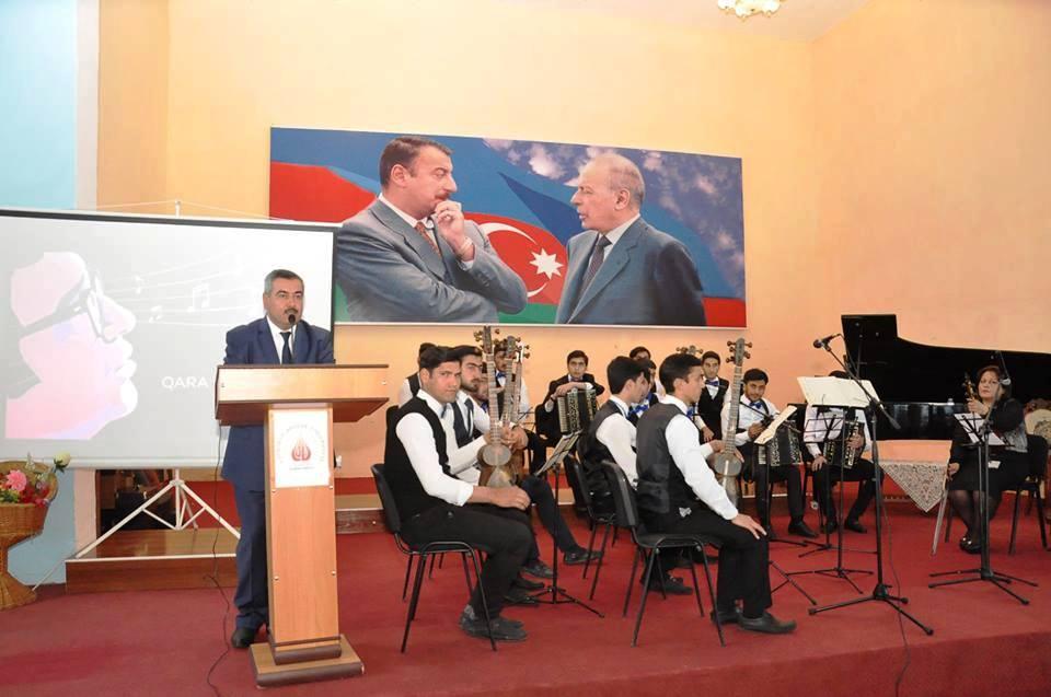 Qara Qarayevin 100-illiyinə həsr olunmuş musiqi gecəsi keçirildi
