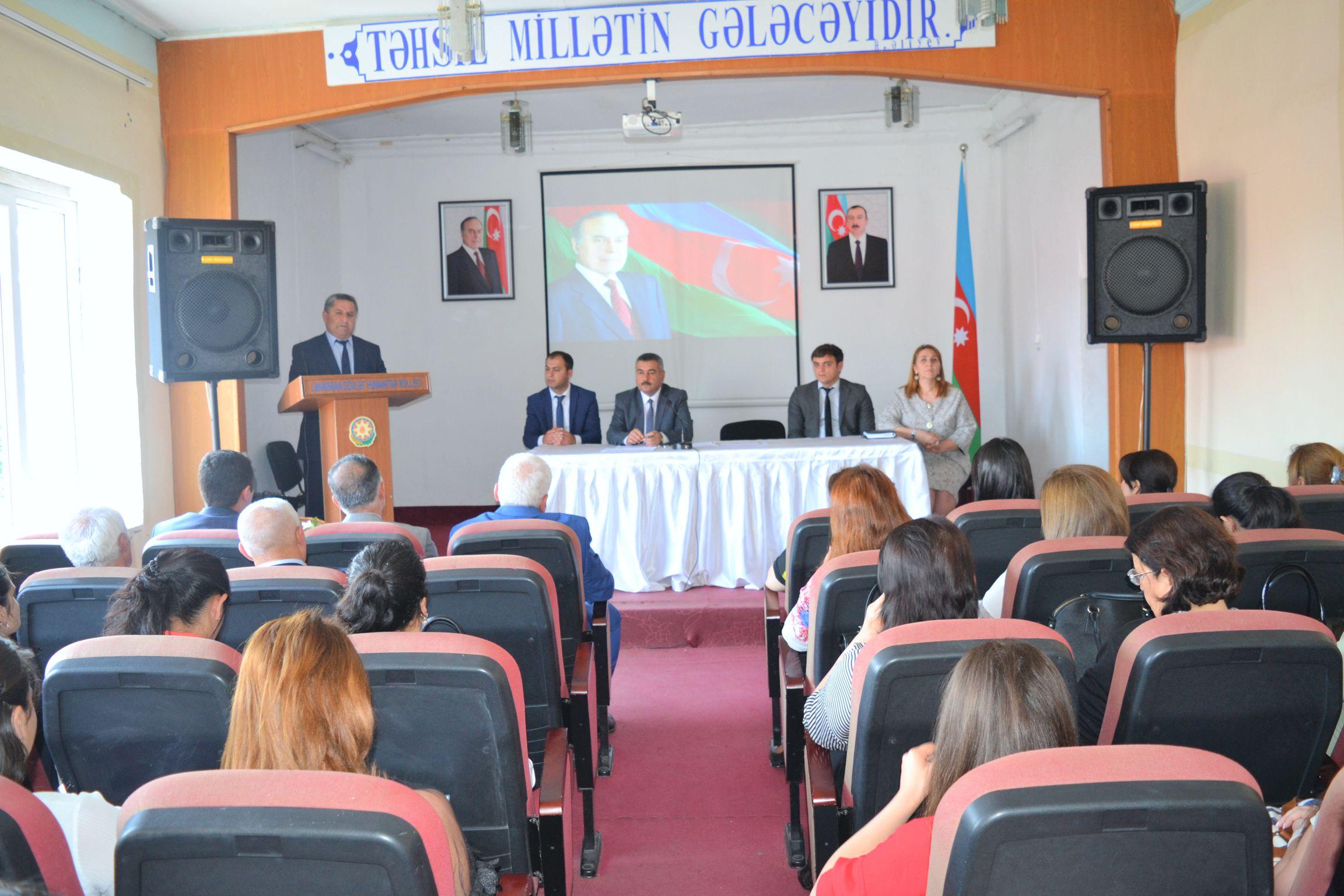 Ümummilli Lider Heydər Əliyevin anadan olmasının 95-ci ildönümünə həsr olunmuş yubiley tədbiri keçirildi