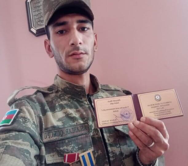 Kollecin əməkdaşına növbəti medal verildi