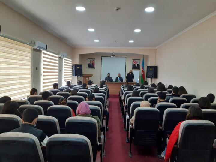 Kollecdə 1 saylı Regional Ekologiya və Təbii Sərvətlər İdarəsinin təşkilatçılığı ilə seminar keçirildi