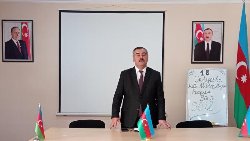 """Kollecdə """"Dövlət Müstəqilliyinin Bərpası Günü"""" ilə bağlı açıq dərs keçirildi"""