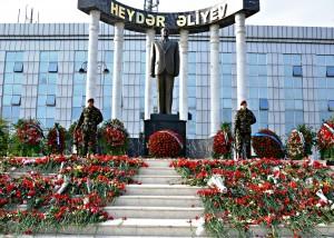 Ümummilli lider Heydər Əliyevin anım günü